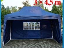 barnum tonnelle pavillon pliant tente de jardin 3x6 bleu. Black Bedroom Furniture Sets. Home Design Ideas