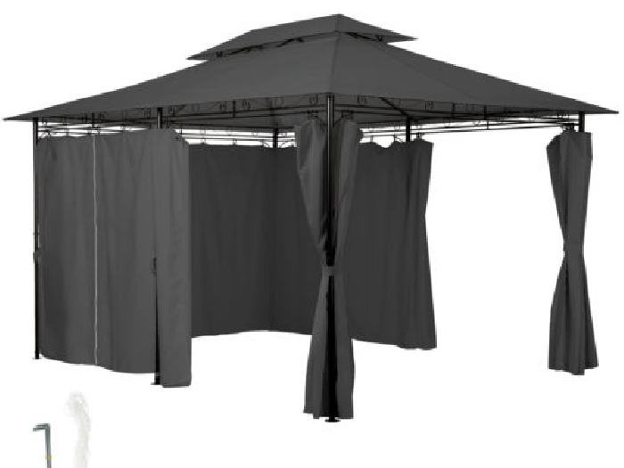 tonnelle 4x3 latest toile pour tonnelle palmeira x m sable with tonnelle 4x3 tonnelle with. Black Bedroom Furniture Sets. Home Design Ideas