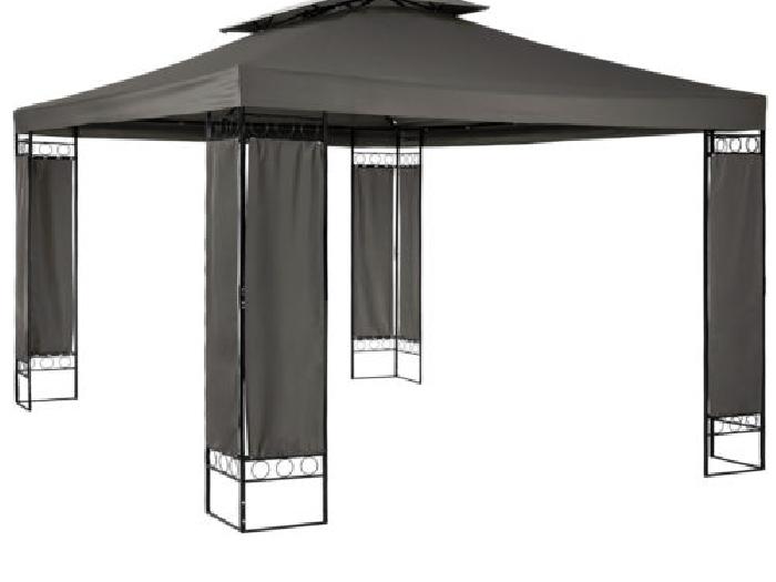 tonnelle de jardin luxe barnum chapiteau tente pavillon 390x290x265 anthracite tente barnum. Black Bedroom Furniture Sets. Home Design Ideas