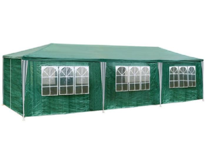 Tonnelle de jardin barnum auvent chapiteau tente pavillon de jardin ...