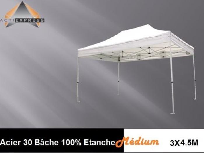 tonnelle pliante tente pliable b che pvc polyester 100 tanche barnum tente barnum. Black Bedroom Furniture Sets. Home Design Ideas