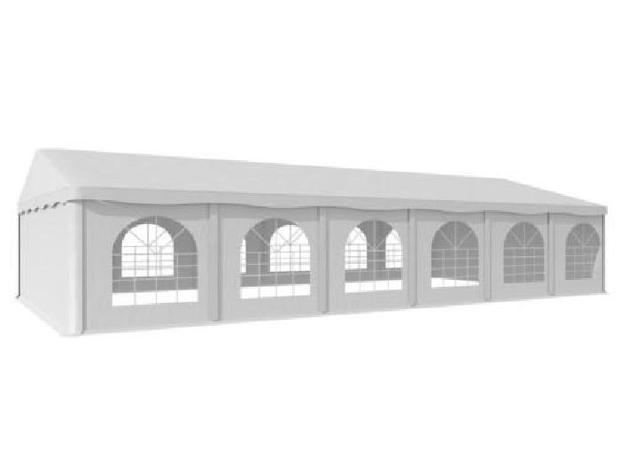 Tonnelle barnum 6x12m fenêtres chapiteau jardin réception ...