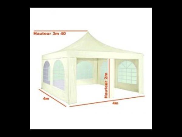 tarrington house chapiteau tente de r ception 16 m tonnelle id ale pour repas f tes. Black Bedroom Furniture Sets. Home Design Ideas
