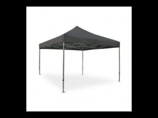 tente pliante pro 40mm en alu 3x3m gris anthracite tente barnum. Black Bedroom Furniture Sets. Home Design Ideas
