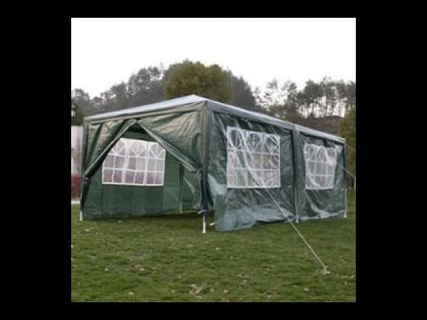 Tente de reception 3×6M tonnelle chapiteau fenêtres cotés ...