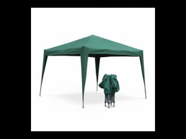 Tonnelle pliante 3 x 3 m - Tecto Vert - Tente de jardin pop ...
