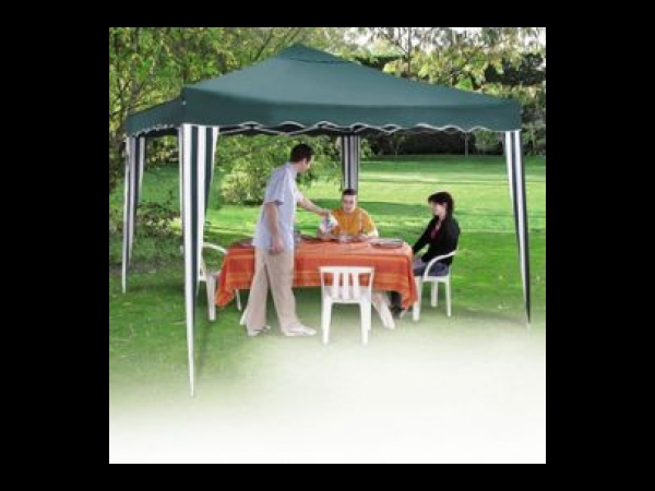 tente pliable 3x3m tonnelle pavillon de jardin tente barnum. Black Bedroom Furniture Sets. Home Design Ideas