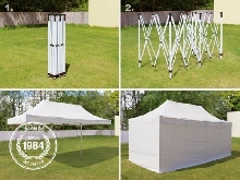 LOCATION Tente Barnum 3x6m pliante (montage en 5 mn) LOCATION 80?/jour 110?/WE