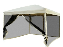 Outsunny Tonnelle Barnum Pliant Pop-up Style Colonial 3L x 3l x 2,55H m