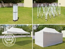 LOCATION Tente Barnum 3x6m pliante (montage en 5 mn) LOCATION 80?/jour 100?/WE