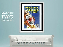85356 CIRCUS RINGLING BROS BARNUM BAILEY SHOW CLOWN Decor LAMINATED POSTER FR