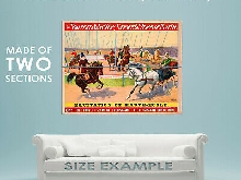 94317 1900 Barnum & Bailey Horses Circus Decor LAMINATED POSTER FR