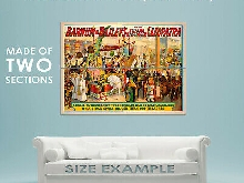 93805 1912 Barnum & Bailey Cleopatra Circus Decor LAMINATED POSTER FR