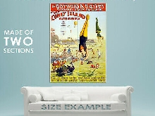 83839 Vintage Barnum Circus Coney Island Carnival Decor LAMINATED POSTER FR