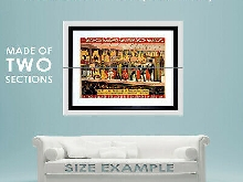 86218 CULTURAL EXHIBITION FREAK SHOW BARNUM BAILEY Decor LAMINATED POSTER FR