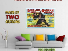 265191 RINGLING BROS. BARNUM BAILEY GARGANTUA THE GREAT CIRCUS PRINT POSTER FR