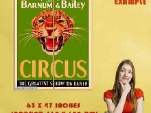 306505 Ringling Bros. and Barnum & Bailey Cheetah Circus Travel POSTER Affiche