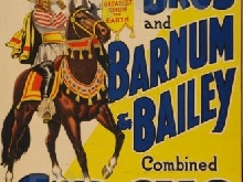BARNUM BAILEY CIRCUS Rntq-POSTER/REPRODUCTION 90x120cm* d1 AFFICHE VINTAGE