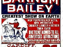 228565 TAFF VALE Railway Barnum & Bailey isment GLOSSY POSTER  FR