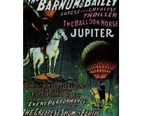 Barnum and Bailey the greatest show o retro vintage style metal wall plaque sign