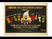 CIRQUE RINGLING BROS BARNUM BAILEY R206 POSTER 40x60cm* d1 AFFICHE VINTAGE
