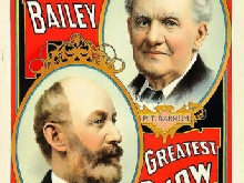 329126 The men Barnum and Bailey Greatest Show on Earth PRINT POSTER FR