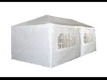 TONNELLE 3X6 M BARNUM PARTY TENT TENTE DE RECEPTION CHAPITEAU, COTES DEMONTABLES
